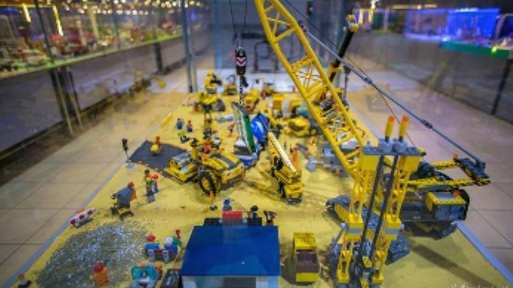 Wystawa klocków Lego w Pasażu. Największa w Polsce [ZDJĘCIA]