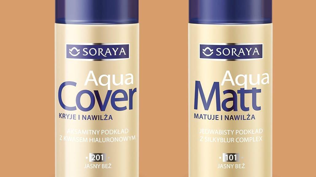 Perfekcyjny makijaż i idealna cera? Wypróbuj Soraya Make-Up Aqua