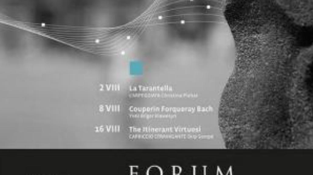 Forum Musicum - rozpoczęcie