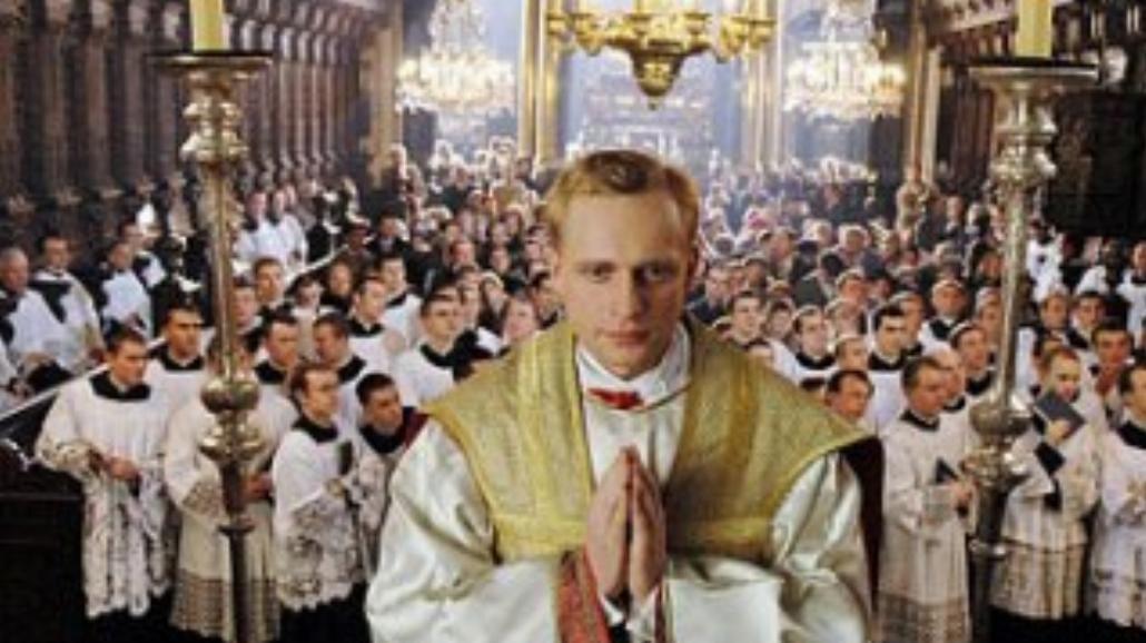 Adamczyk z samochodem po papieżu