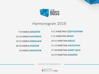 Nadchodzi Festiwal Boss! - projekt studencki, warsztaty, szkolenia, rozwój, wydarzenie