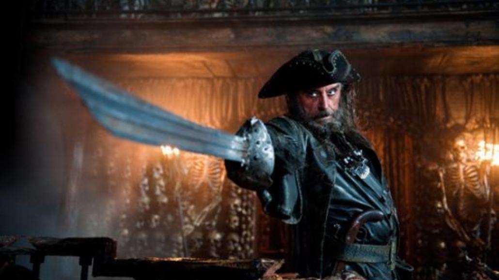 Piraci z Karaibów 4: Tak wygląda Czarnobrody!