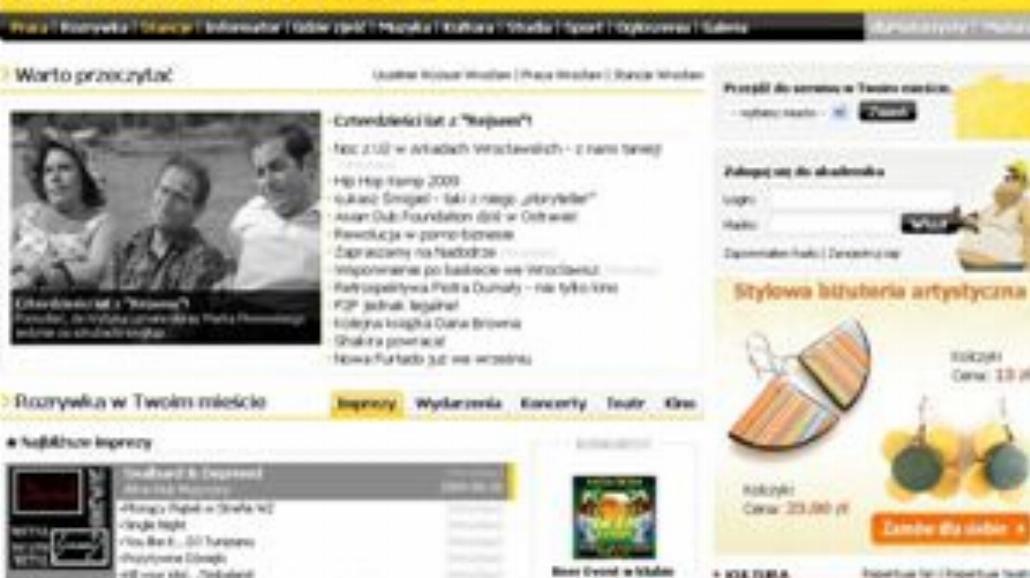 Nowy layout dlaStudenta.pl