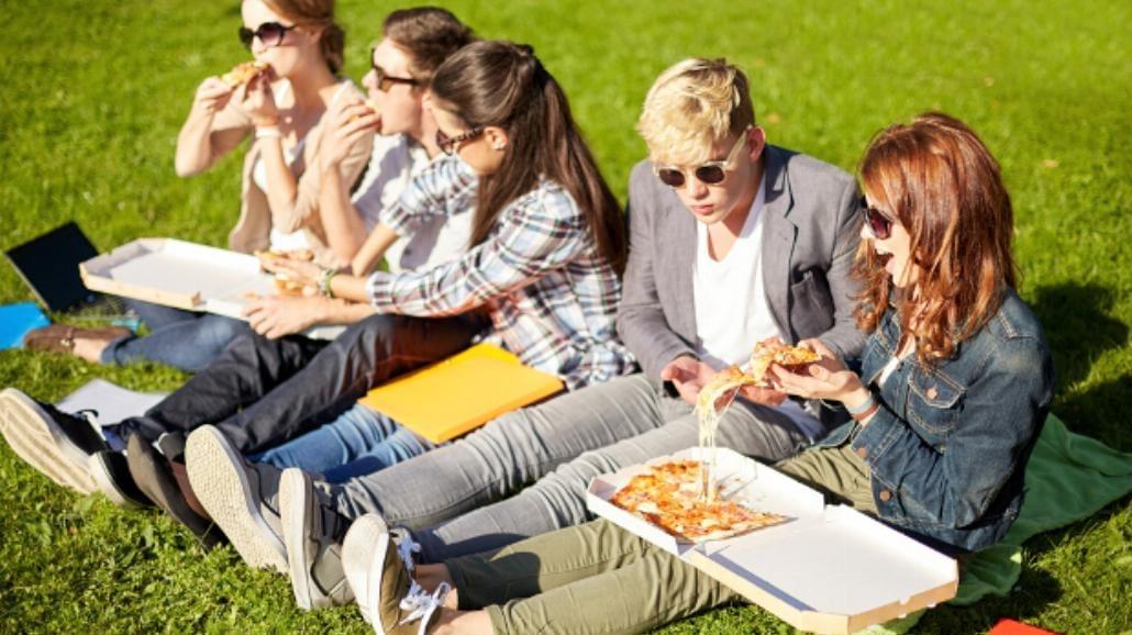 Studenckie jedzenie na wakacjach