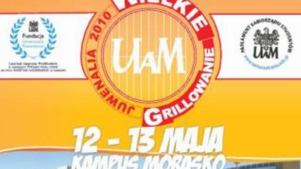 Wielka Majówka UAM - Wielkie Grillowanie