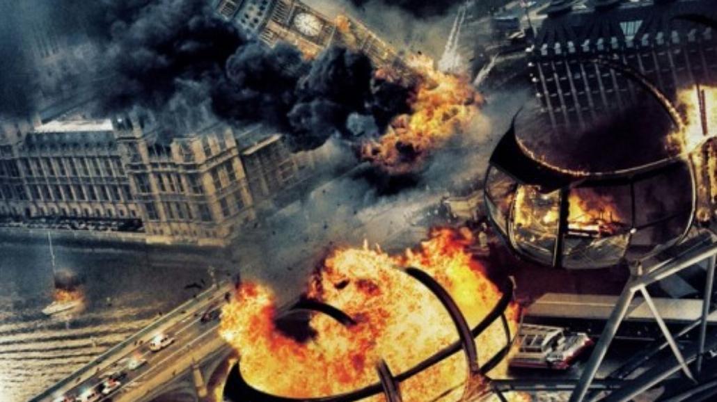 Londyn się pali, świat się wali, ale Gerard Butler nas uratuje! [WIDEO]