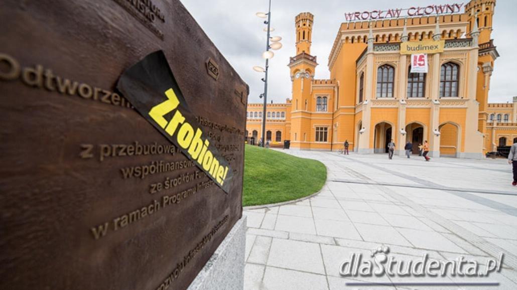 Wrocławski Dworzec Główny wyróżniony