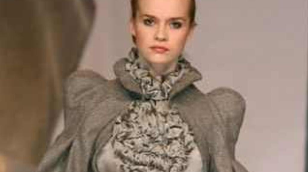 Cracow Fashion Awards 2009 - moda wbrew kryzysowi