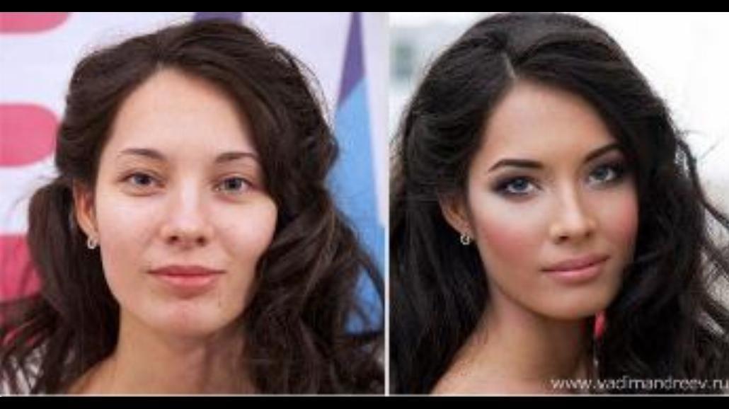 Rosjanki z i bez makijażu. To nie Photoshop!