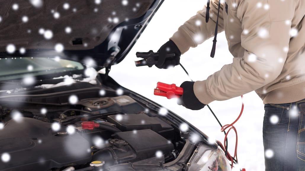 Najczęstsze awarie samochodu w okresie zimowym