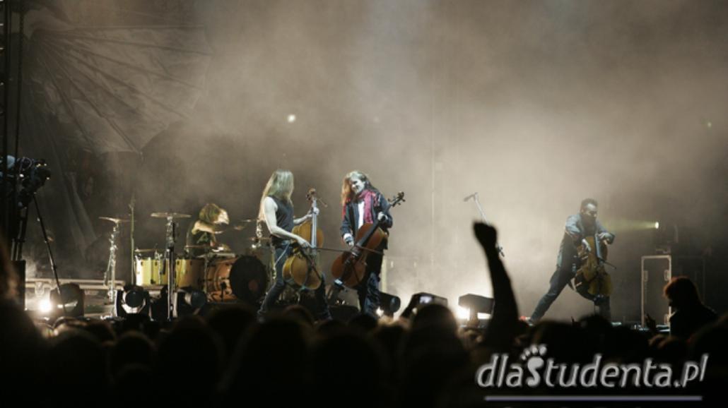 Apocalyptica zagrała w Krakowie [FOTO]