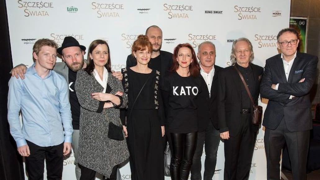 """Gruszka, Kulesza, Stramowski - gwiazdy na premierze filmu """"Szczęście świata"""" [FOTO]"""