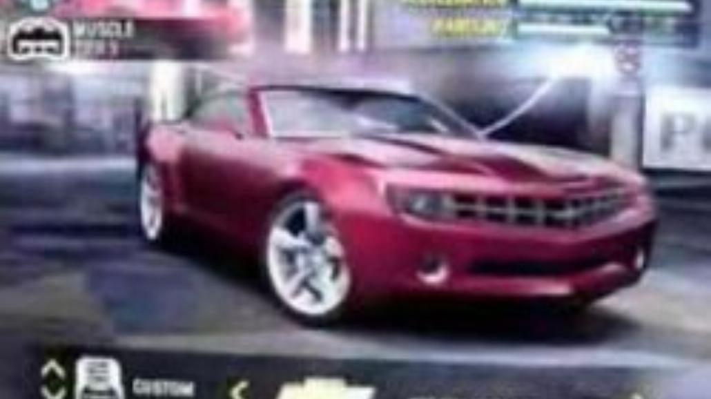 NFS Carbon - Chevrolet Camaro Concept