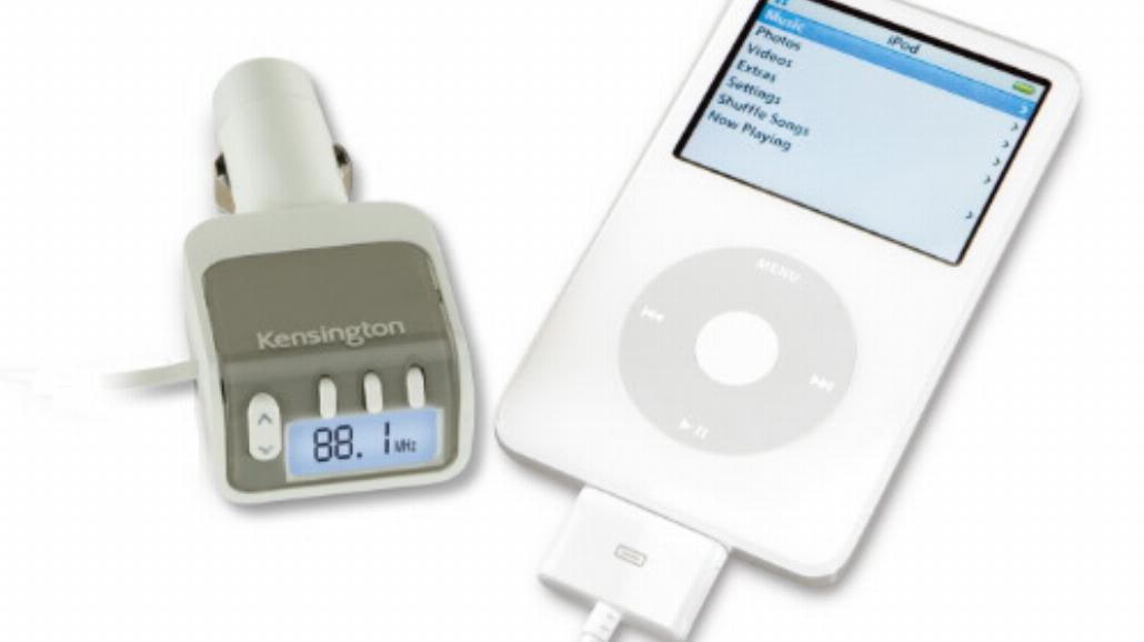 Transmitery Kensington do iPodów i MP3