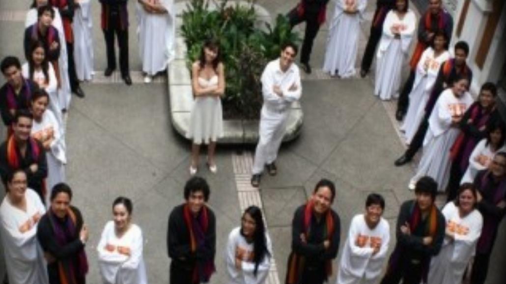 Koncert muzyki a capella chóru z Ekwadoru