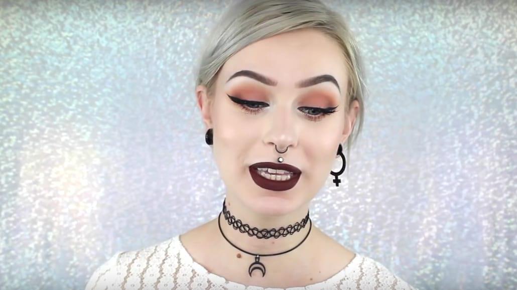 Jesienny makijaż w stylu grunge