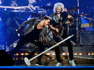 Koncert Queen - rusza sprzedaż biletów! - Queen, muzyka, koncert, rozrywka, polska, adam lambert, lodz