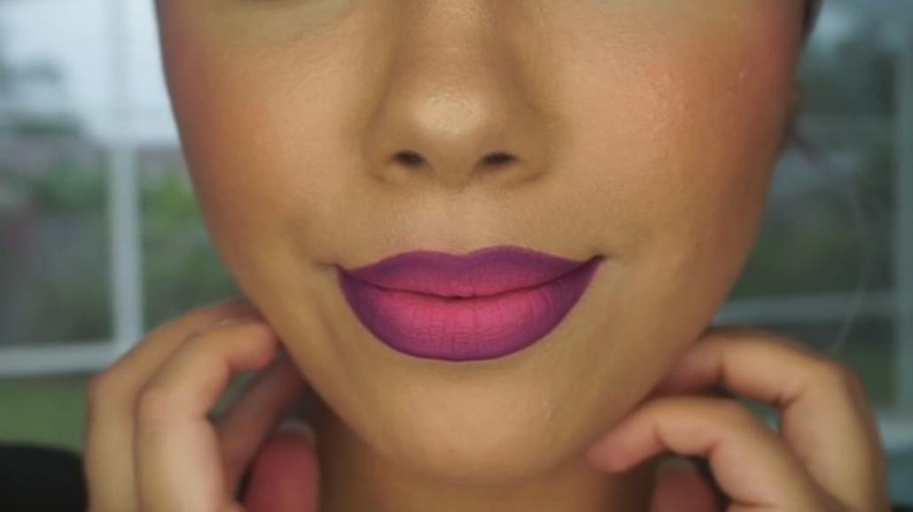 Najnowszy hit w makijażu! Usta ombre! Zobacz, jak wykonać taki makijaż [WIDEO]