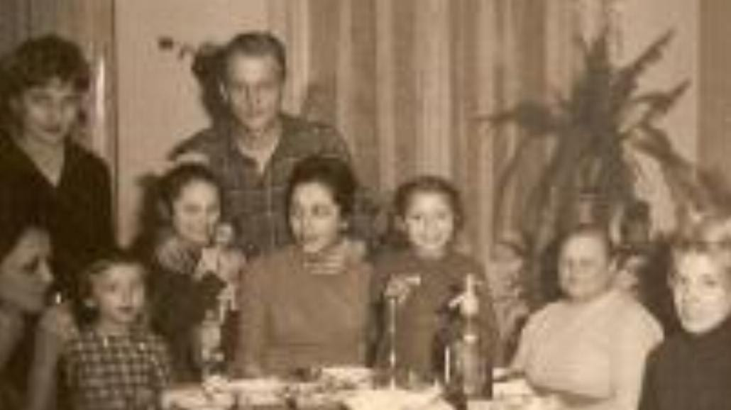 Z rodziną jak na zdjęciu