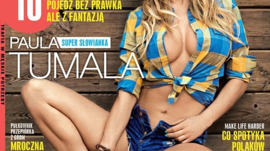 Modelka Donatana Paulina Tumala w CKM