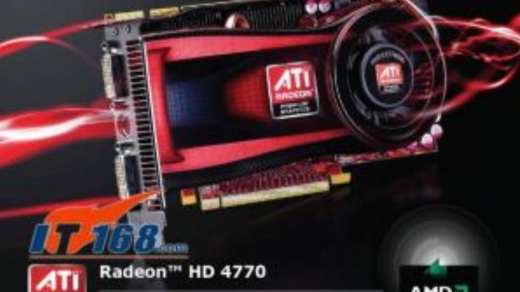 Nowy Radeon HD 4770