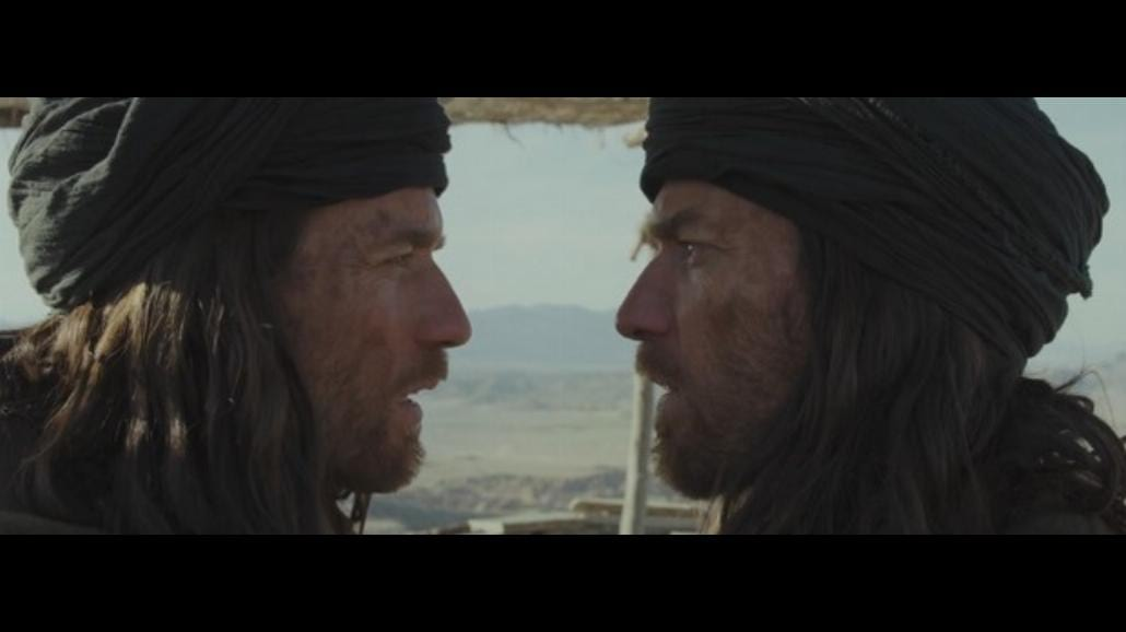 Ewan McGregor jako Jezus i diabeł [WIDEO]