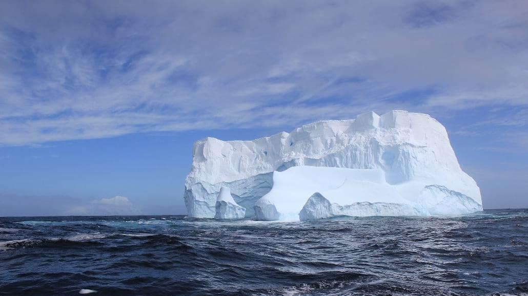 Ogromny lodowiec odłączył się do Antarktydy