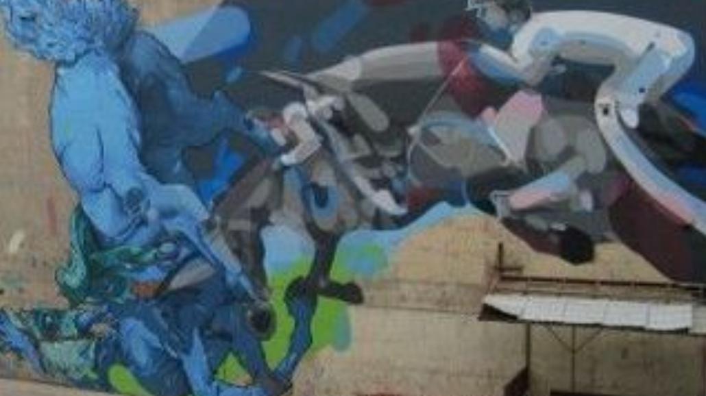 Więksi od Banksy'ego: gigantyczny polski streetart