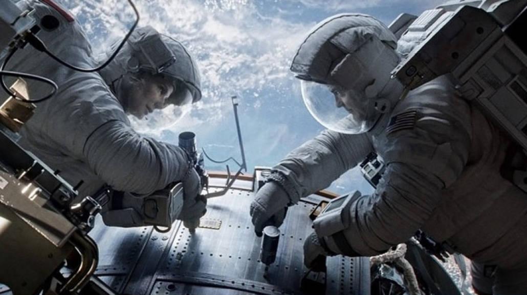 filmy o kosmosie - Grawitacja