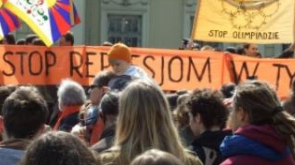 Upomnieli się o Tybet w Krakowie