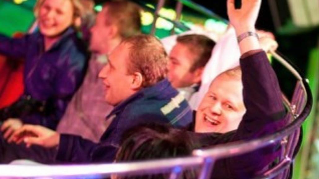 Szóste Święto Wiosny Lunapark  na pl. Społecznym