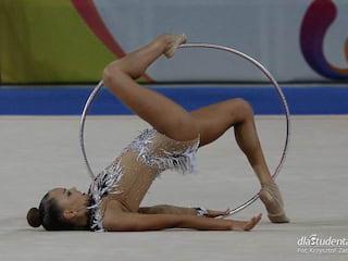 Rosyjskie bliźniaczki zdominowały The World Games 2017 [WIDEO] - Arina, Dina, Averina, gimnastyka arystyczna, medal, podium, Hala Stulecia, siostry