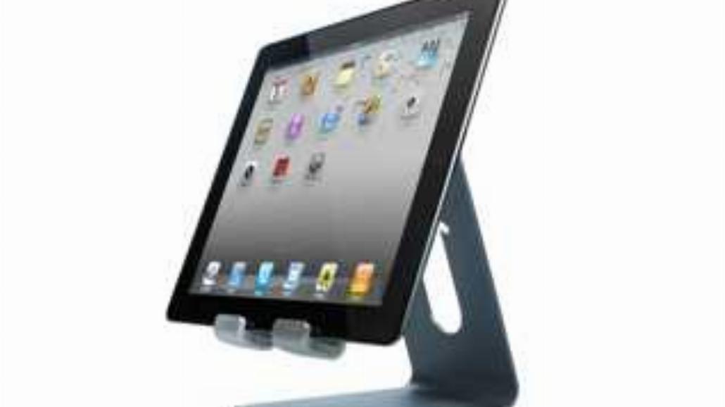 Aluminiowy stojak na tablety od Cygnett