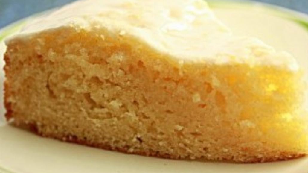 Błyskawiczne ciasto jogurtowo – cytrynowe