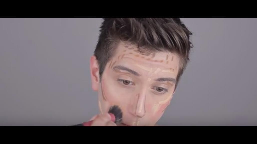 Męskie konturowanie twarzy [WIDEO]