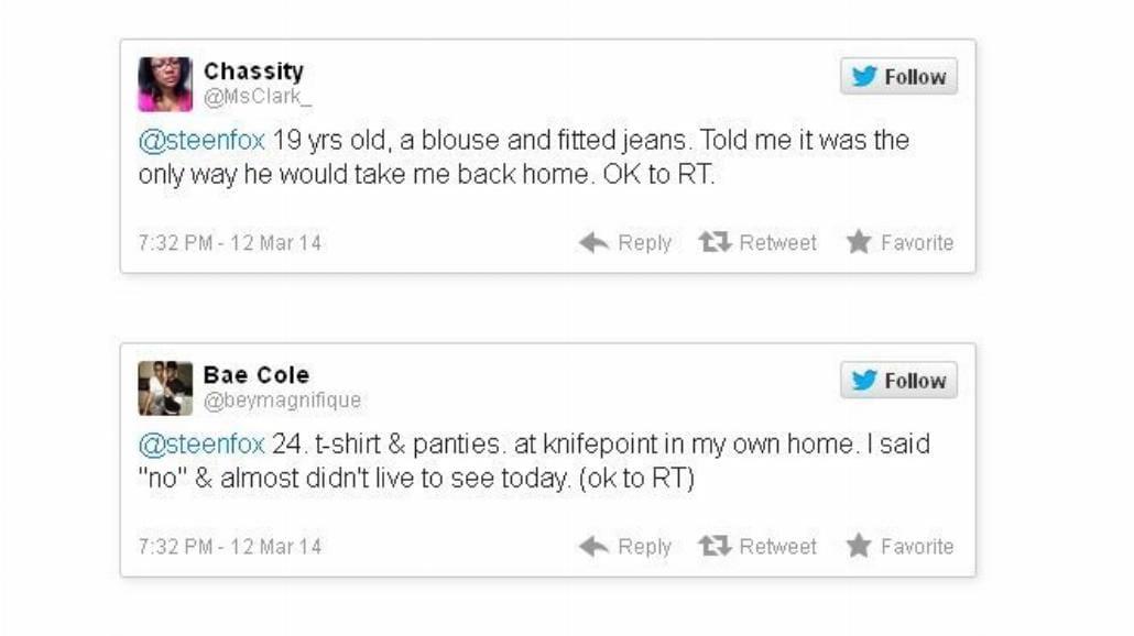 Ofiary przemocy seksualnej opowiedziały o niej na Twitterze