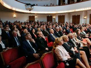Jubileusz 15-lecia WSZOP w Teatrze Śląskim - studia Katowice, Teatr Śląski Katowice, Wyższa Szkoła Zarządzania Ochroną Pracy