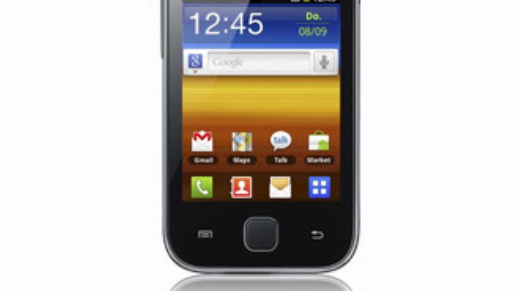 Samsung Galaxy Y - test telefonu