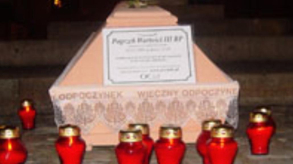 Pogrzeb wartości III RP