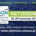 NetVision'18 - weź udział w Ogólnopolskiej Konferencji Biznesu i Nowych Technologii - warsztaty, prelekcje, tematy, harmonogram