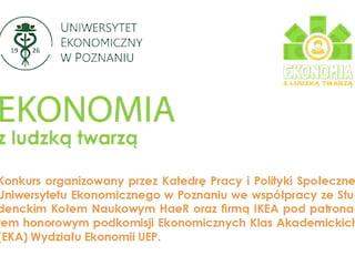 """Weź udział w konkursie """"Ekonomia z ludzką twarzą"""" - dla ucznia, nagrody, konkurs, etapy, test, kwalifikacje"""