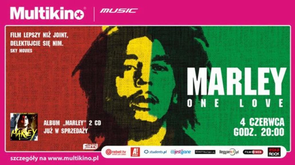 Film o Bobie Marleyu dzisiaj w Multikinie!