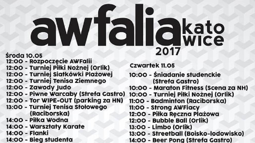 AWFalia Katowice 2017