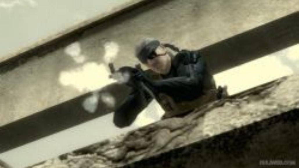 Metal Gear Solid 4 - screeny z TGS