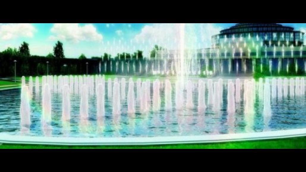 Pierwszy pokaz największej fontanny w Polsce