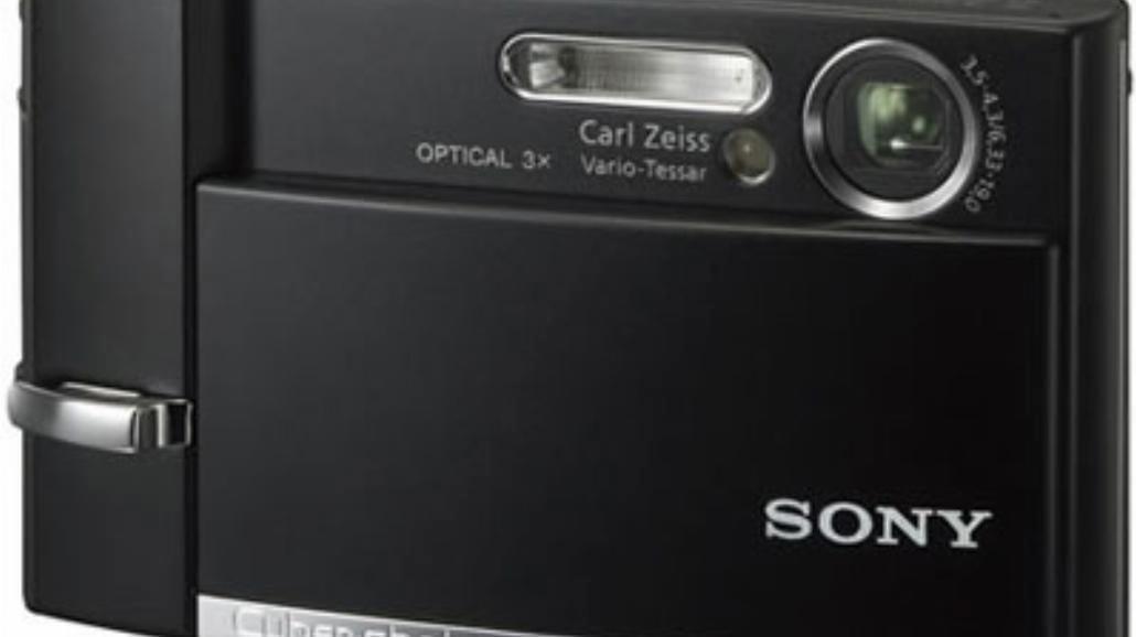 Sony T-Series Cybershot z dotykowym wyświetlaczem