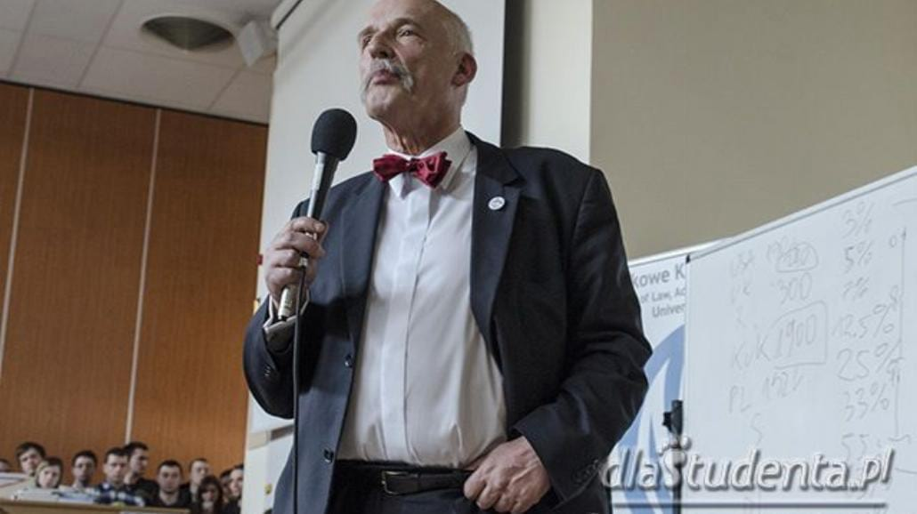 Nowa partia Janusza Korwin-Mikkego ma nazwę. Nie zgadniecie jaką