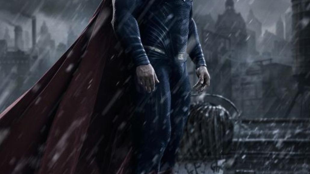 Batman v Superman: Henry Cavill w stroju Supermana