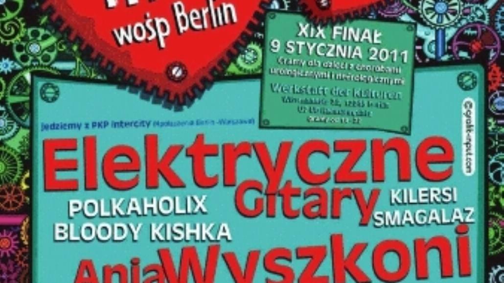 Wielka Orkiestra zagra w Berlinie