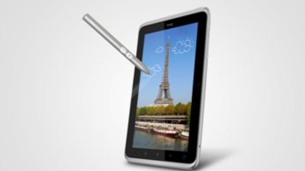 HTC Flyer - pierwszy tablet od HTC